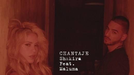 Shakira lanza su nueva canción con Maluma: 'Chantaje'