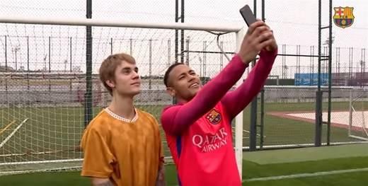 Justin Bieber vuelve a mostrar su amor por el Barça
