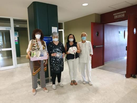 La Asociación Activos y Felices se reinventa durante la pandemia con el apoyo de Textil Santanderia