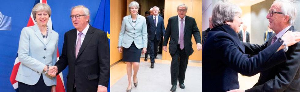 Primer avance en las negociaciones del Brexit sobre: derechos, fronteras y factura a pagar
