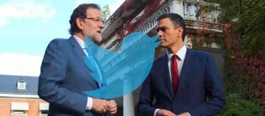 Las bases de PP y PSOE inundan Twitter de 'memes' y golpes bajos sobre el 'cara a cara'