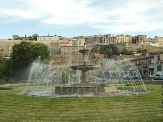 Fuente de Azarquiel, en Toledo