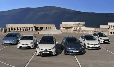 Toyota ha vendido ya más de 50.000 híbridos en España