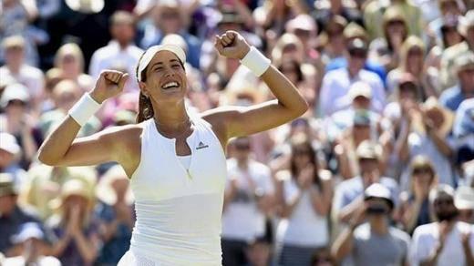 El subcampeonato en Wimbledon lanza a Garbiñe hasta el 'top ten': la española ya es 9ª del mundo
