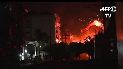 Israel bombardea duramente Gaza y ya es posible que estalle una nueva guerra