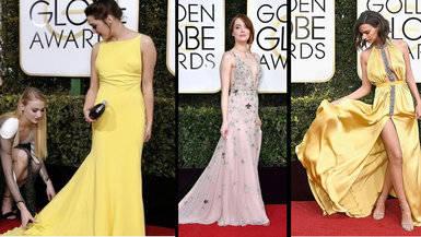 Alfombra roja de los Globos de Oro 2017: las mejor vestidas