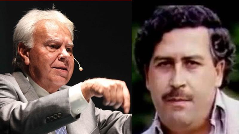 Iglesias sigue disparando a Felipe González: ahora dice que conoció al 'narco' Pablo Escobar