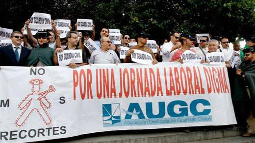 La Justicia autoriza la 'marea de tricornios' del 14-N en Madrid