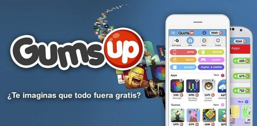 GumsUp, una nueva plataforma que ofrece el contenido de Itunes, Google Play y Amazon gratis