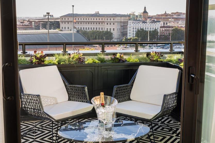 Vistas desde el Hotel Only YOU Atocha, que recientemente ha recibido el galardón Hotels & Tourism al mejor establecimiento