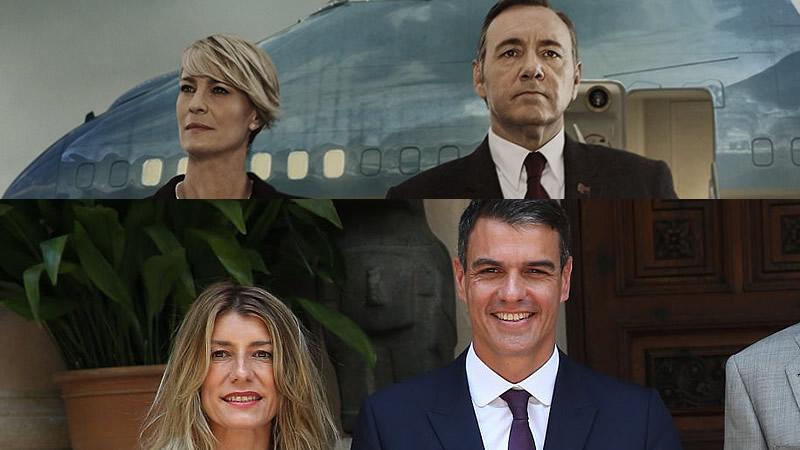El 'House of Cards' de Pedro Sánchez y Begoña Gómez que explota la oposición