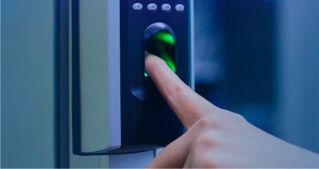 Medidas de Seguridad como la huella digital