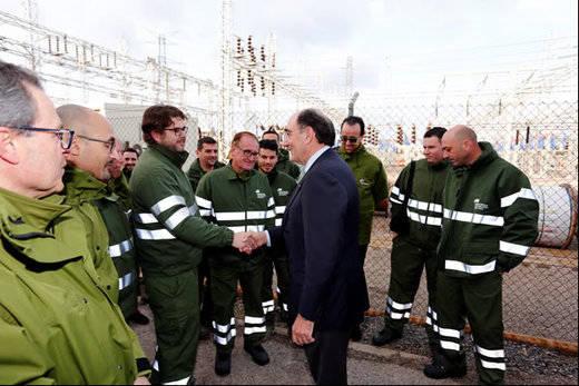 Iberdrola invierte 540 millones en la mejora de su red eléctrica en España