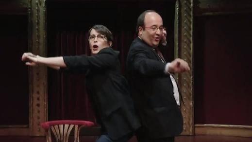 La respuesta de Iceta al reproche de Marta Rovira por bailar en 'El Intermedio'