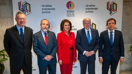 40 años de Ifema   Los alcaldes coinciden en que Ifema es 'el reflejo de la evolución española'