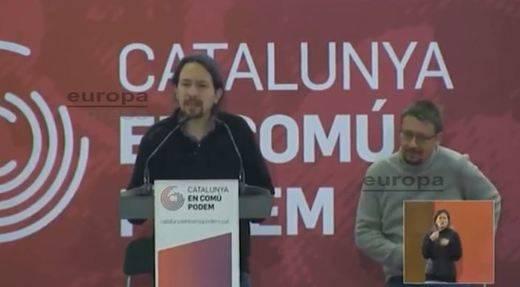 Iglesias acusa al independentismo de