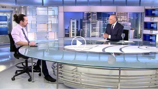 Pablo Iglesias insiste contra Ayuso: 'Cuando se levanten las alfombras (...) los jueces encontrarán indicios de delito'