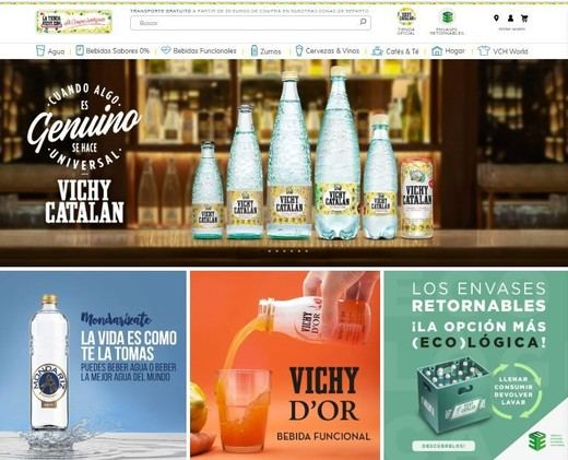 Vichy Catalan Corporation optimiza su tienda online en tiempos de crisis sanitaria