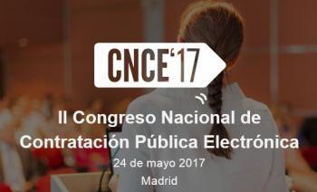 Madrid acogerá el II Congreso Nacional de Contratación Pública Electrónica el 24 de mayo