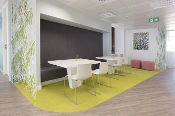 Nueva planta del Workspace Lexington en el Paseo de la Castellana