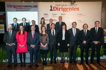 Susana Monje recoge el premio Dirigentes en nombre de Essentium