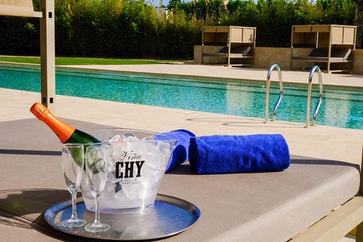 Vichy Catalan presentó ayer la nueva piscina que completará la experiencia lúdico-termal de su Hotel Balneario en Caldes de Malavella