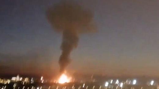 Balance del incendio en la fábrica de Tarragona: 1 muerto y 8 heridos