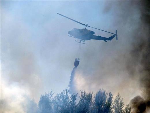 Extinguido un incendio en Talavera de la Reina, que arrasó unas 15 hectáreas