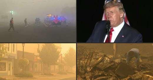 Los incendios también golpean a Trump ante las elecciones: decenas de muertos y desastre ecológico