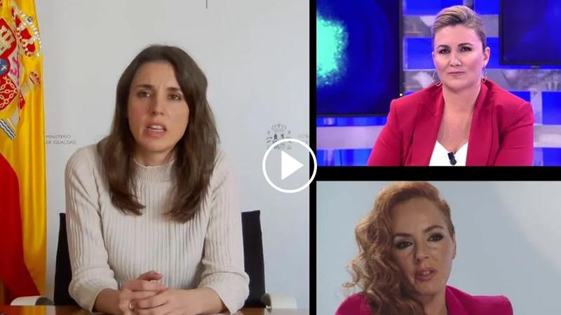 Irene Montero, criticada por entrar en directo en 'Sálvame': una ministra en la 'telebasura'