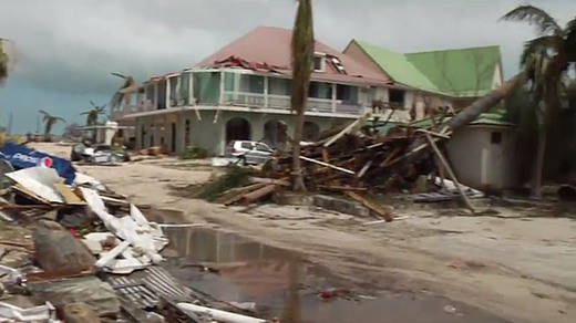 El planeta se rebela: al 'huracán Irma' se le suma ahora un fortísimo terremoto en México
