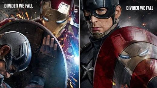 La nueva película del Capitán América, 'Civil War', ya tiene cartel con Iron Man como invitado estelar