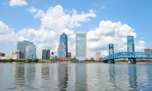 Vista general del skyline de Jacksonville, Florida (Foto: Pixabay)