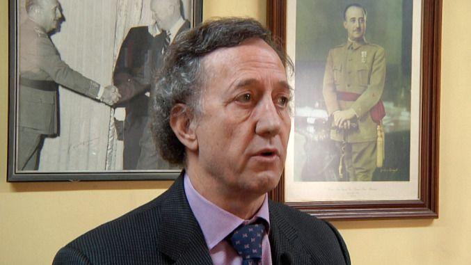 Jaime Alonso, ex vicepresidente de la FNFF: 'La izquierda no sabe vivir sin Franco'
