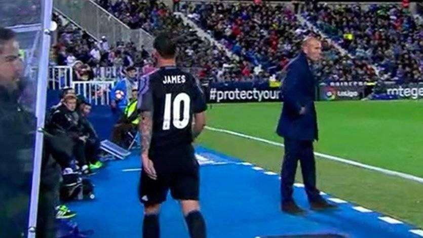 El vídeo de James Rodríguez estallando por el cambio