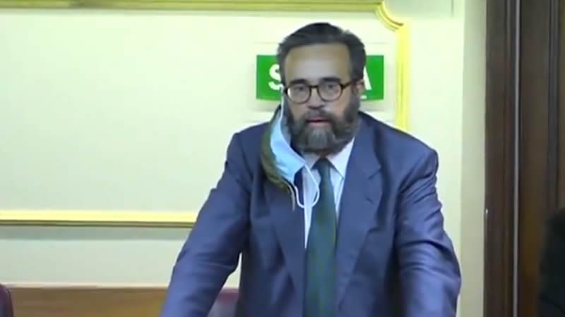 El diputado de Vox José María Sánchez García