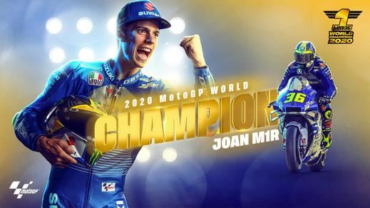 Joan Mir gana el mundial de MotoGP de la manera más discreta posible