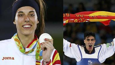 El Taekwondo sigue dando alegrías olímpicas: plata para Eva Calvo y bronce para Joel González