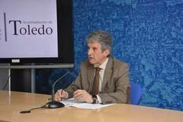 José Pablo Sabrido Portavoz del Equipo de Gobierno. Fuente: Ayto de Toledo