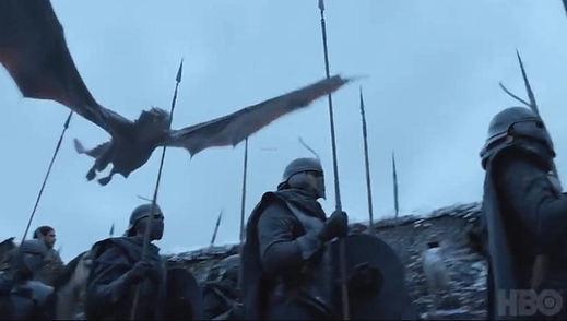 'Juego de Tronos' lanza un nuevo adelanto con Arya y Drogon como protagonistas