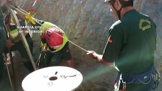 Rescate de Julen: la última fase vuelve a complicarse para alcanzar la zona donde está el niño