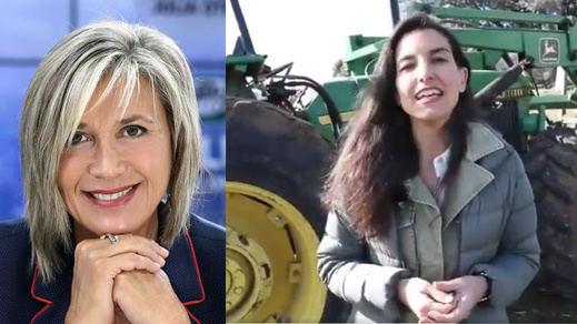 Julia Otero y Rocío Monasterio se enzarzan por el cambio climático... y un tractor