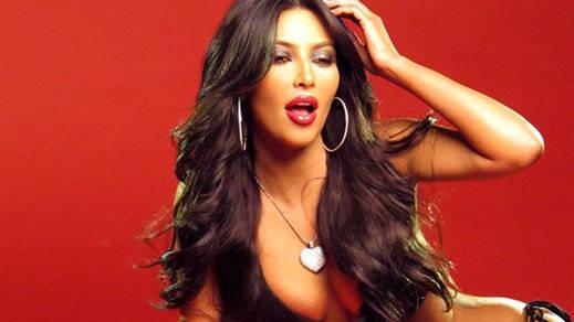 Kim Kardashian estrena parte su esperado y muy sexy videoclip 'Jam'