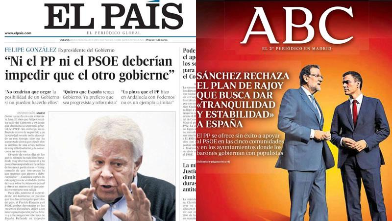 Fantasmas del pasado socialista y corrupción 'pepera' en el kiosco de hoy