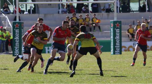 'Los Leones' se juegan en Bruselas la clasificación para el Mundial de rugby
