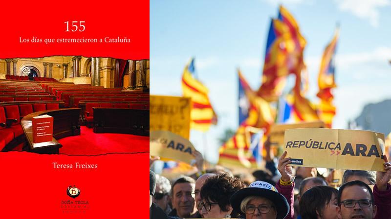 Josep Borrell apadrina el libro '155. Los días que estremecieron a Cataluña'