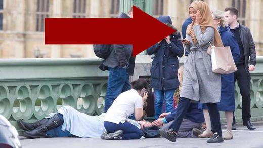 Las imágenes virales del atentado de Londres