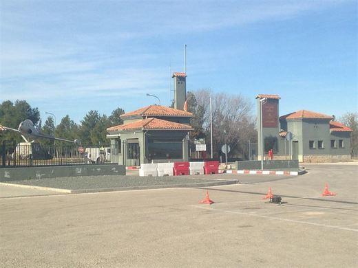 Un mando mal accionado en la cabina del F-16, causa del accidente aéreo en la Base de Los Llanos