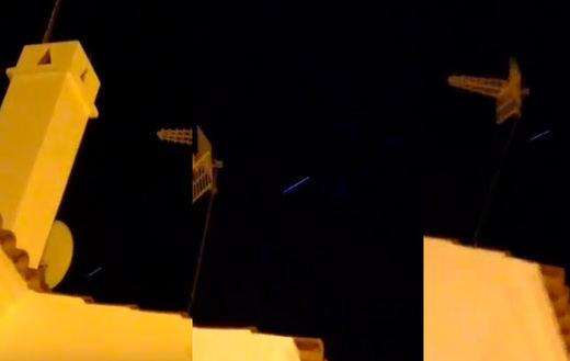 Lo que hay detrás de los falsos 'cometas' que surcaron el cielo de Andalucía
