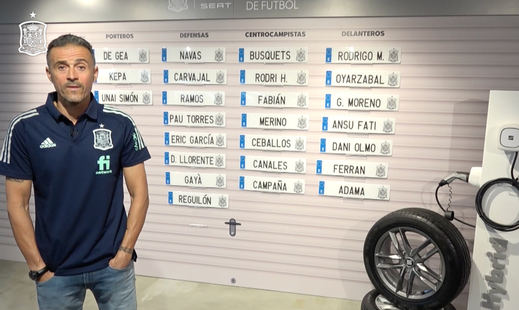 Lista de España: Luis Enrique vuelve a llamar a Ceballos y Canales y hará debutar a Campaña